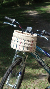 Paul Bunyan Trail Bike Basket